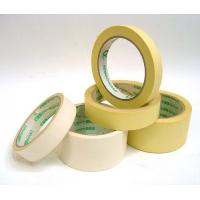 China Hot Melt Adhesive Crepe Paper Masking Tape Easy Tear And Peel Off on sale