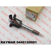 Buy cheap BOSCH Genuine common rail fuel injector assy 0445120091, 0445120047, F01G09P1XE for MITUSBISHI FUSO ME193983,, ME193289 from wholesalers