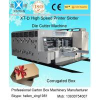 China Paper Printing Carton Making Machine With Remote Computer Diagnosis System on sale