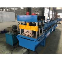 China Automatic Ridge Cap Roll Forming Machine With PLC Control 20GP Container wholesale