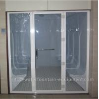 China Acrylic Wet Steam Sauna Room , Luxury 6 Person Home Steam Room 3640 * 1800 * 2150mm wholesale