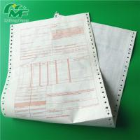 China Ncr Digital Carbonless Paper , Computer Printing Carbon Copy Paper Sheets OEM wholesale