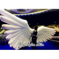 China Large Holy White Inflatable Wings Costumes for Activity and Party wholesale
