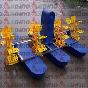 China High Efficiency Fish Shrimp Prawn Farming Pond Paddle Wheel Aerator on sale
