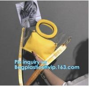 China tote bag pu waterproof beach package handbag, Colorful PVC PU Handbag For Woman, Beach Bag Women Handbag With Cotton Rop wholesale