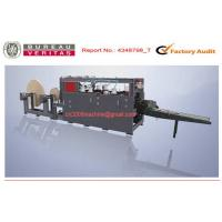 China Paper Handle Making Machine / Cement Paper Bag Making Machine High Speed on sale
