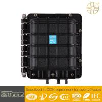Quality Small Aerial Fiber Optic Joint Enclosure 4 Ports IP68 Waterproof GJS-6017 for sale
