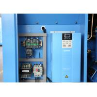 Quality Small Industrial Screw Air Compressor With Variable Speed Driven Motor 6~8bar for sale