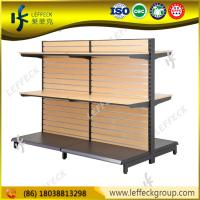 China Professional customized design wood candy store display for grocery shop wholesale