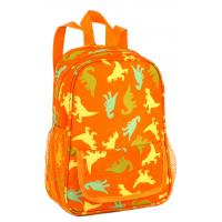 Polyester fabric kids satchel backpack cute school bags tiger type of