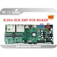 China 8 Channel H.264 DVR Main Board Multiple Cloud Technology 2 X 6T HardDisk wholesale