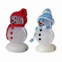 China Christmas Gifts with Gleamy Snowman, Powered by USB, Sized 95 x 50 x 50mm wholesale