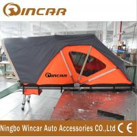 China Orange Automotive Roof Mounted Tent 212 * 132cm 250kgs Capacity With Printing Logo wholesale