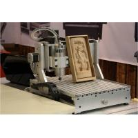 China aman 2030 4-axis 1500W 3d cnc wood carving machine wood engraving cutting lathe wholesale