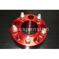 China Forged / Silver CNC Machining Universal Wheel Spacers Aluminum Double Drilled wholesale