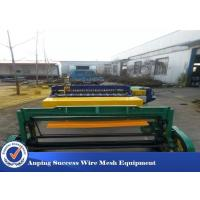 China Automatic Wire Mesh Manufacturing Machine High Speed 50X50-200X200MM wholesale