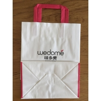 China flat handle paper bags wholesale