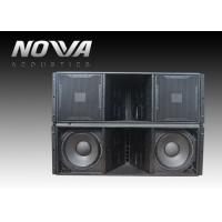 China ActiveLine Array Sound System , Ground Stack Line Array Powered Speakers wholesale