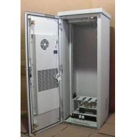 China Tower Installed Telecom Cabinet, IP55, With Heat Exchanger and Fans, Aluminum Cabinet wholesale
