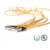 China 1F Zip 2mm Fiber Optic Patch Cord Corning Cable 7m Length With Single Mode wholesale