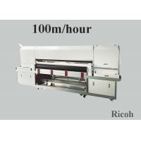 China 1800 mm Pigment Digital Textile Printing Machine On Clothes 8 Ricoh Gen 5 wholesale
