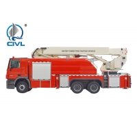 China Water Tower 6x4 31900kg Fire Fighting Vehicle on sale