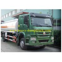 China Howo Waste Chemical Tanker Truck 10 CBM for Suction Liquid , Fuel Tanker Trailer wholesale