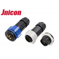 China M19 Electrical Waterproof Panel Mount Connector Wire 3Pin Connector IP67 For Outdoor wholesale