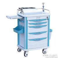 China Hospital Stainless Steel Luxury Anesthesia Trolley Emergency Trolley/ First aid, anesthesia, daily care wholesale