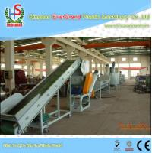 China Waste Automatic Bottle Washing Machine for Plastic Bottles Crushing / Recycling on sale