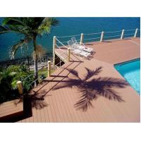 China Outdoor Decking Flooring Backyard Pools WPC Composite Decking wholesale