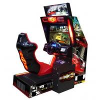 China crazy speed 32 LCD coin operated electronic simulator driving car racing game machine racing games for kids wholesale