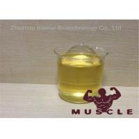 China Pre-Mixed Yellow Oil Liquid Trenabolic 80 For Bulking Cycle CAS 10161-34-9 wholesale