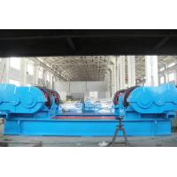 Buy cheap Loading Capacity 300 Ton Double Sides Inverter Motor Drive Metal Wheels Working Rotator / Pipe Turning Rollers from wholesalers