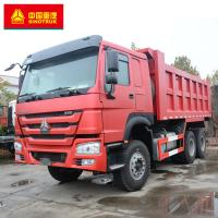 China 6x4 Tipper Truck / Howo 6x4 Dump Truck ABS Service Brake 336hp Power wholesale