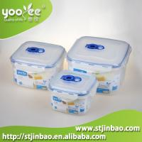 3pcs Airtight Food Grade Plastic Home Containers for Food Storage Wholesale