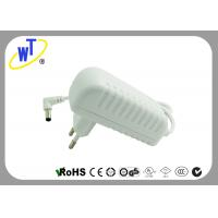 China 18W 2 Pins Wall Mount Power Adapter with Right Angle DC Jack wholesale