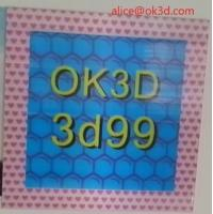 China OK3D 360-degree three-dimensional depth fly eye lens sheet photo frames 360° 3d frame dot lenticular photo frame wholesale
