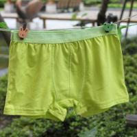 China OEM Plus Size Green Quick Dry 100% Polyester Eco Friendly Perfect Organic Kids Underwear wholesale