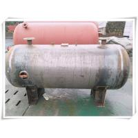 China 3000 Liter Stainless Steel Air Receiver Tank , Pneumatic Compressed Air Reservoir Tank wholesale