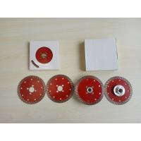 Buy cheap Flange Slot or M14 Flange 4.5/7/9inch  Sintered Turbo Saw Blade For Granite from wholesalers
