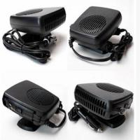 China Dc 12v Plastic Portable Car Heaters Black Color With Fan / Heater Function wholesale