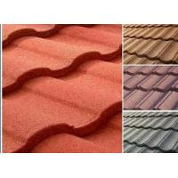 China Roman Wind & Corrosion Resistance Stone Chips Coated Metal Roof Tiles/Roof Sheet/ Roof Panels wholesale