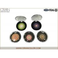 Quality Multi - Colored Powder Professional Eyeshadow Palette With Beautiful Round Pattern for sale