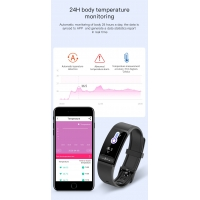 China H8 ECG PPG HRV Blood Oxygen SPO2 Medical Health Care Smart Bracelet Waterproof Hear Rate Monitor Track Fitness Wristband wholesale
