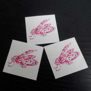 China CMYK body fake custom flower temporary tattoo sticker fake tattoo on sale