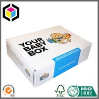 China Matte CMYK Full Color Offset Print Shipping Box; Folding Cardboard Box wholesale