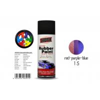China  Air Dry Removable Rubber Spray Paint With Chameleon Red - Purple - Blue Color wholesale