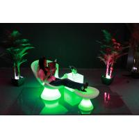 China Luxury Outdoor Swimming Pool led Lounge chari /PE chair wholesale