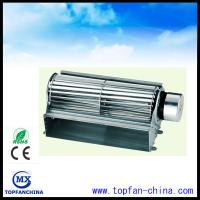 China DC 12V 65mm X 240mm Aluminum Cross Flow Fans 2000RPM 200CFM with Mater Frame wholesale
